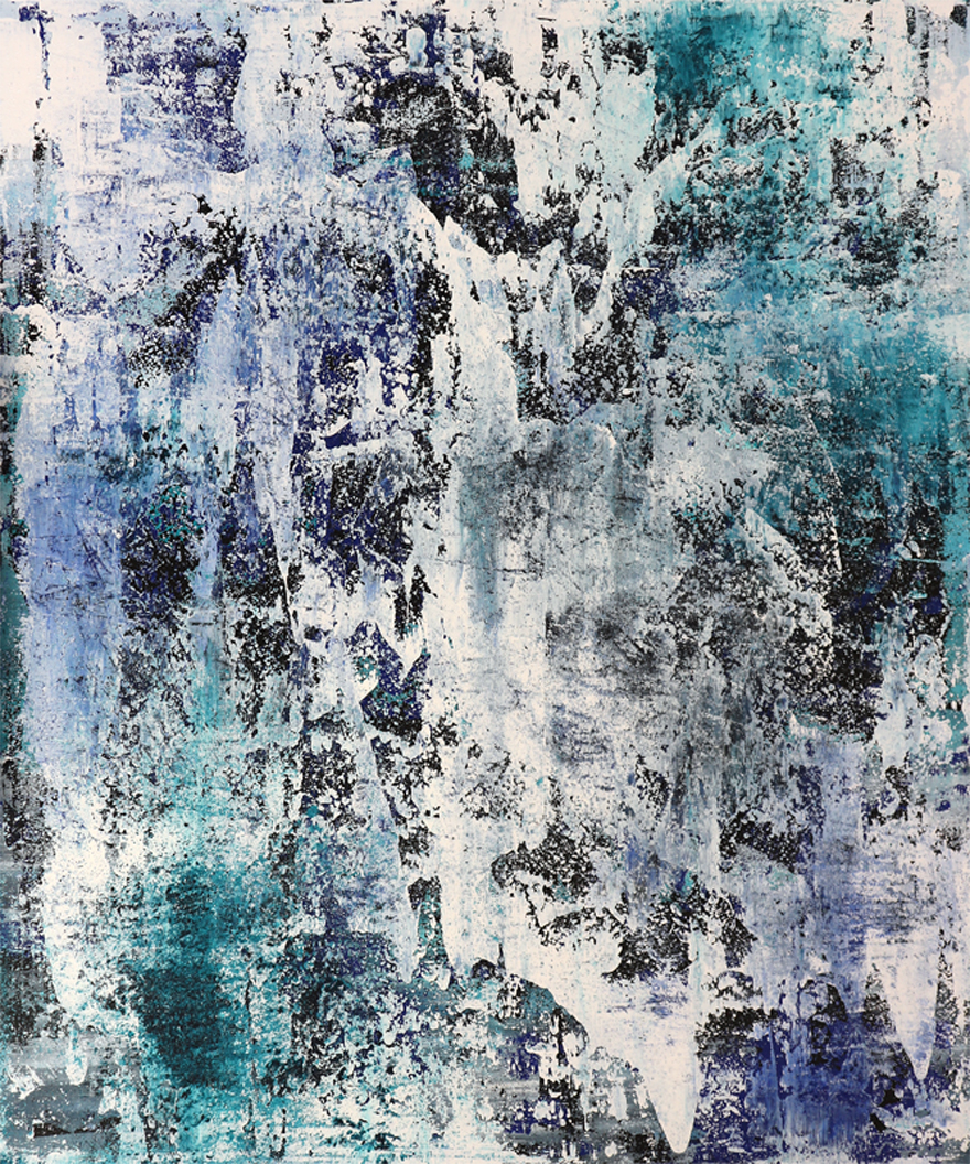 Michael Schmidt: Frozen | Acryl auf Leinwand | acrylics on canvas | 100 x 120 cm
