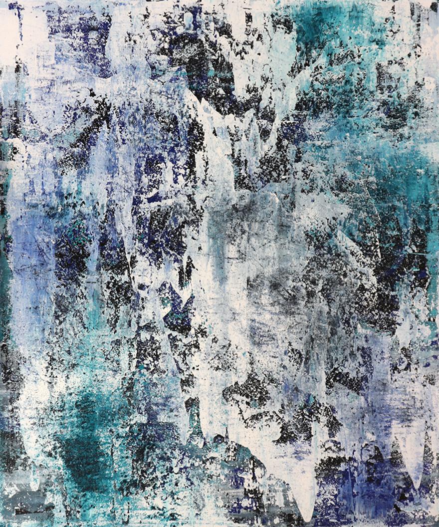 Michael Schmidt: Frozen | Acryl auf Leinwand | acrylics on canvas | 100 x 120 cm