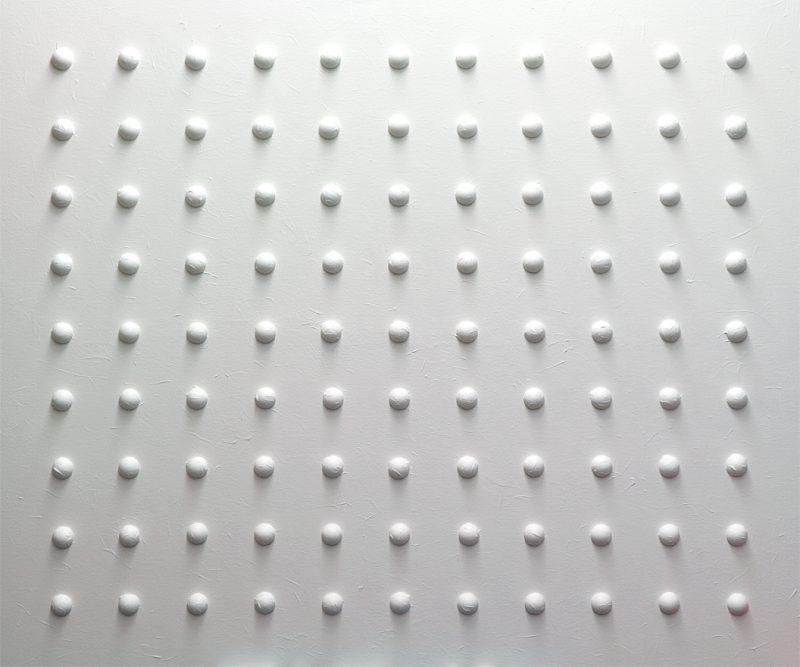 Michael Schmidt: ZERO System 99 | Mixed Media auf Leinwand | 120 x 100 cm