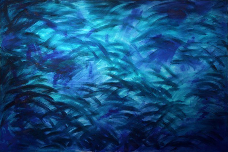 Heike Schmidt: Jungle of Life | Acryl auf Leinwand | 150 x 100 cm